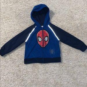 Marvel boys Spider-Man hoodie size 3T